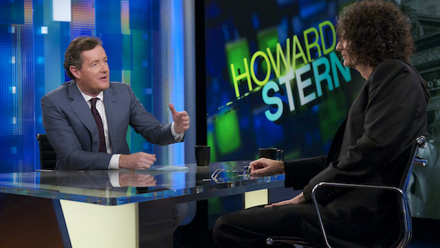 "Howard Stern said his interview with Piers Morgan was ""heavily edited."