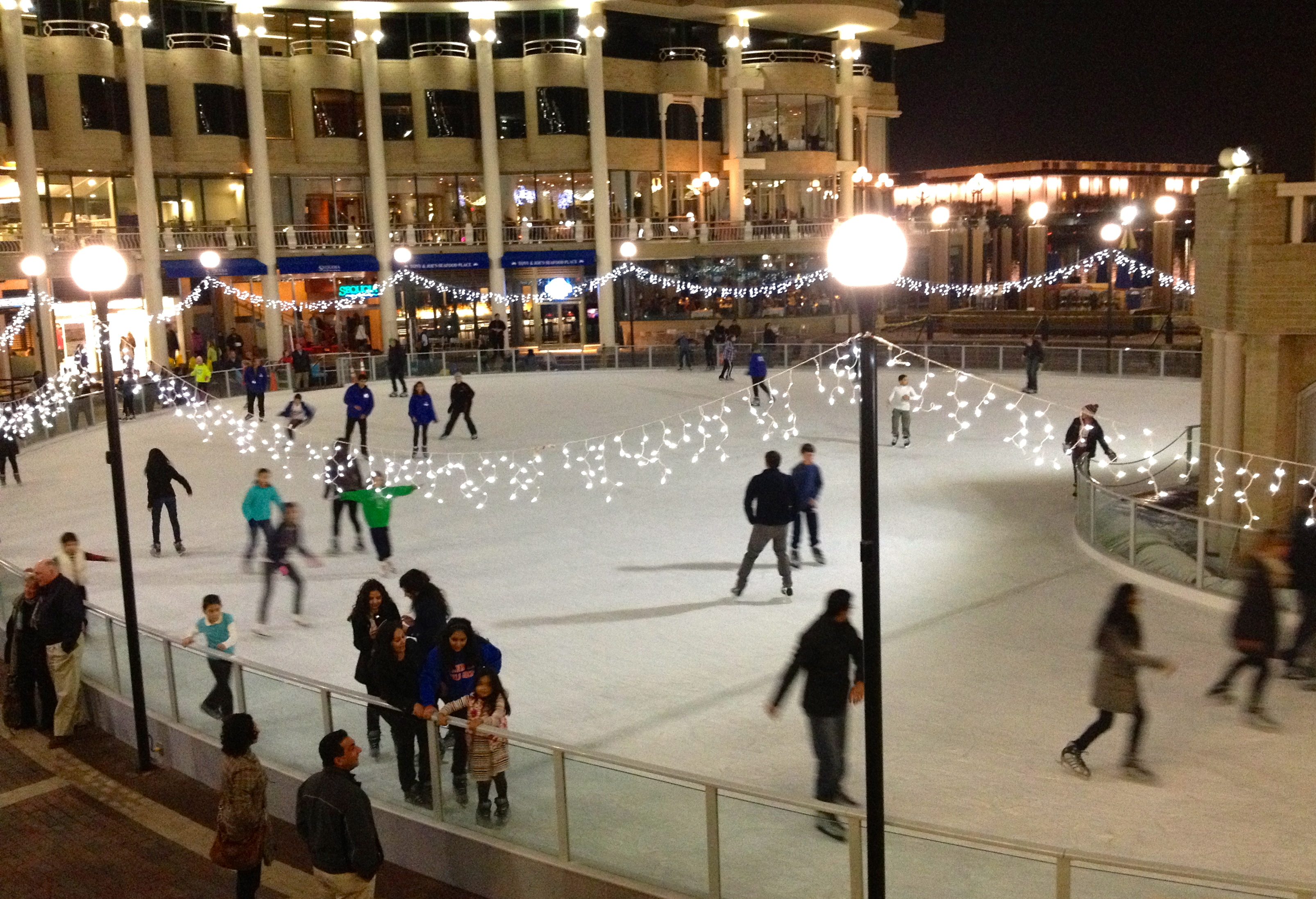 ice skating the georgetown metropolitan
